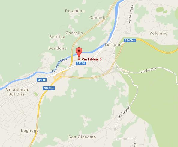 Via Fibbia 8 25089 Villanuova sul Clisi (Bs) Italia