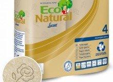 Carta igienica ecologica Econatural, produttore Lucart