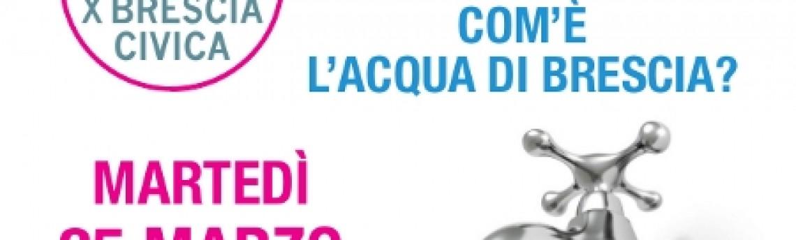 Conferenza sulla qualità dell'acqua di Brescia