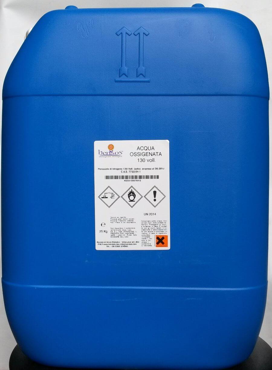 Acqua Ossigenata ad azione igienizzante-sbiancante per piatti e tazzine