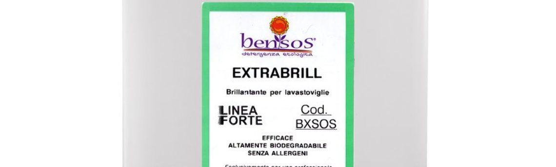 Extrabrill, brillantante per lavastoviglie professionale