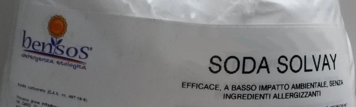 Solvay Soda alkaline detergent powder