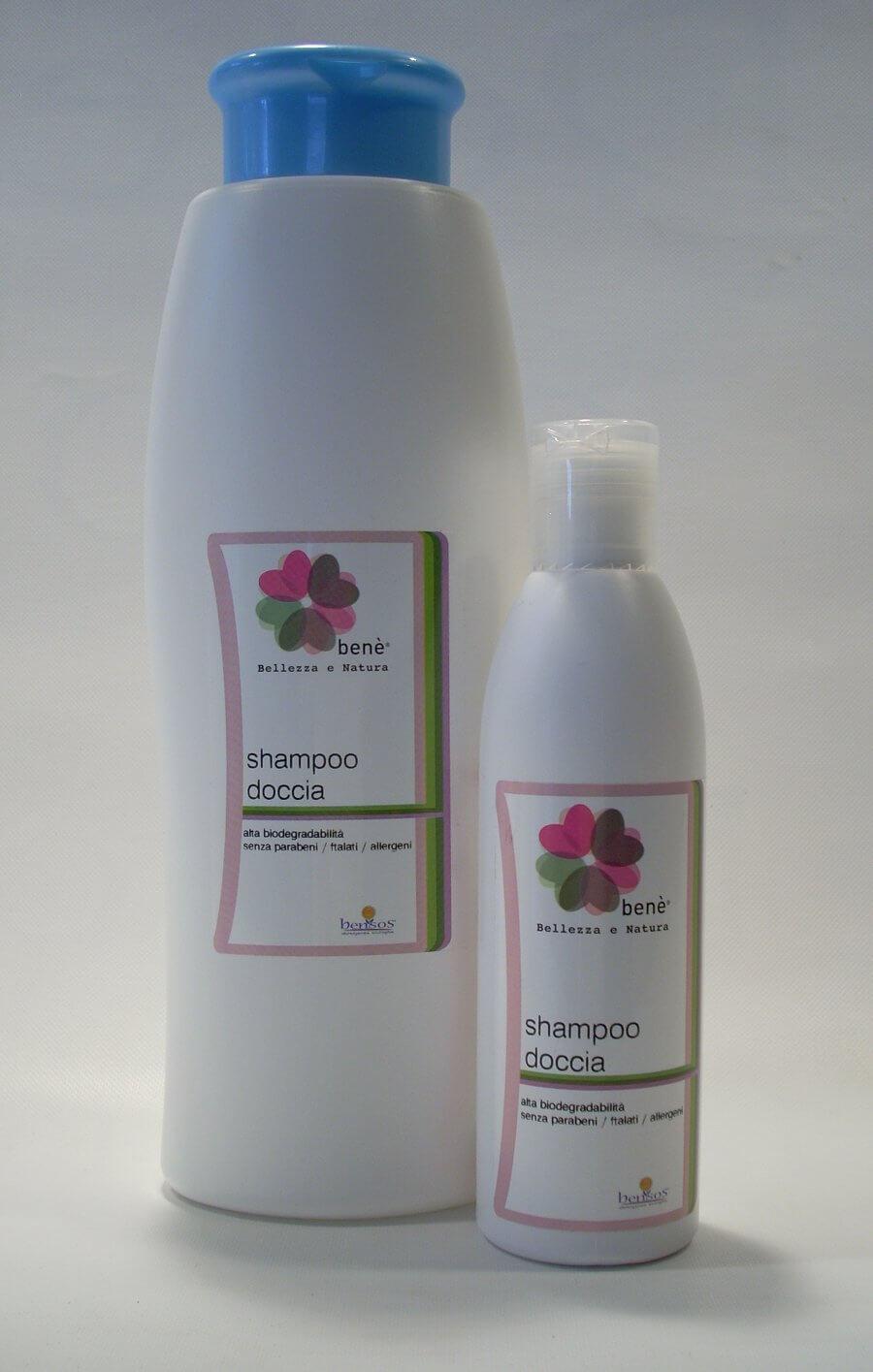 Benè Shampoo Doccia, naturale ed emolliente