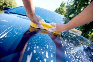 prodotti ecologici di pulizia delle auto
