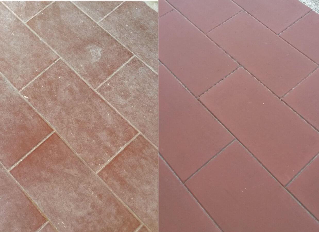 Come pulire le tracce di cemento dal pavimento