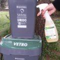 Pulire ecologicamente i cestini del porta-a-porta