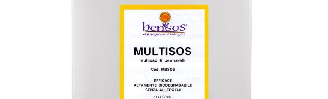 Multisos, neutral multipurpose for quick cleaning