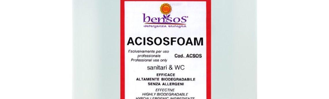 Acisosfoam: detergente anticalcare per bagno che non dà esalazioni
