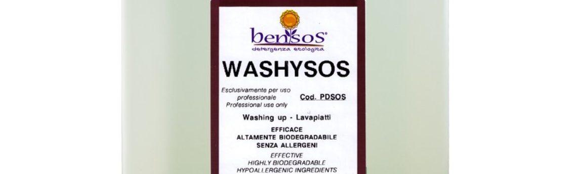 Washysos, detersivo per piatti a mano emolliente
