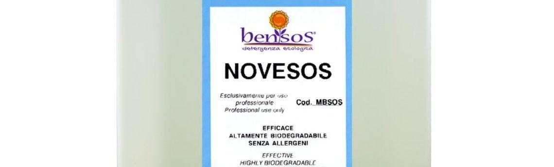 Novesos: sgrassatore per i sanitari delicato sulle mani