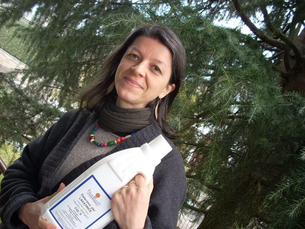 Silvia Palladini dottoressa in chimica, titolare di Bensos detersivi ecologici
