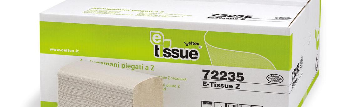 Asciugamani a Z in carta riciclata Ecolabel, l'ideale per hotel, ristoranti e uffici