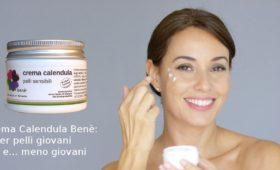 La Crema Calendula Benè è adatta per il contorno occhi e per il contatto con le mucose