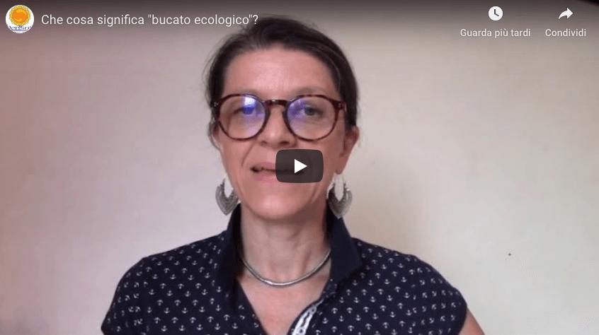 video sul significato di bucato ecologico