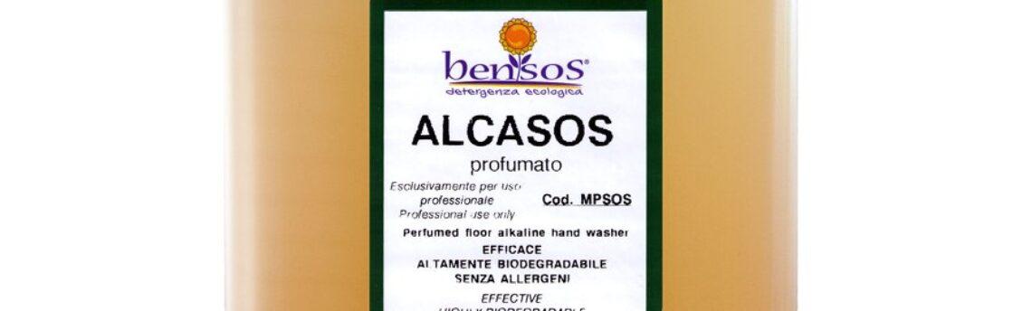 Alcasos detergente ecologico per lavare manualmente i pavimenti